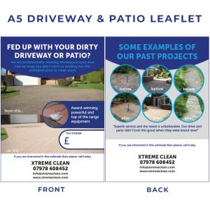 DRIVEWAY&PATIO cleaning leaflet