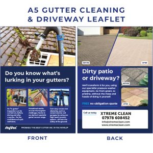 GUTTER&DRIVEWAY cleaning leaflet