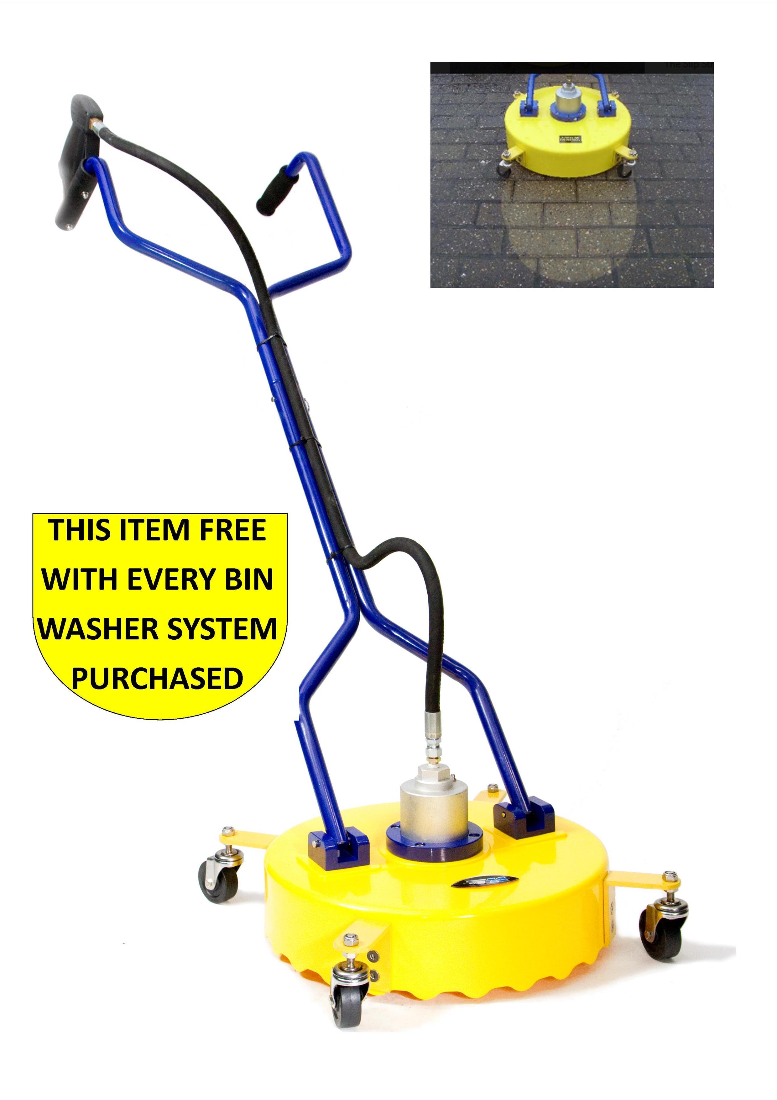 Wheelie Bin Cleaning Machine Jetstream Driveclean