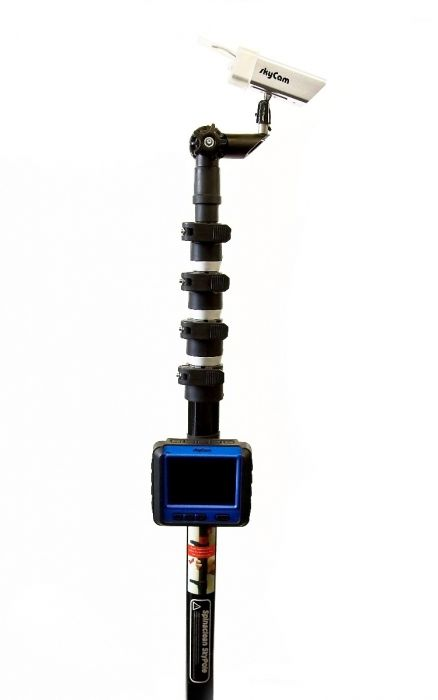 Telescopic Camera Pole High Reach Inspection Pole