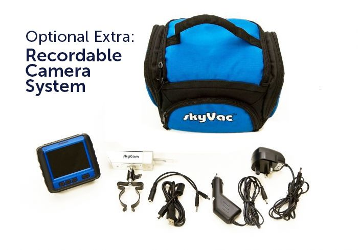 Skyvac Interceptor Portable Gutter Cleaning System